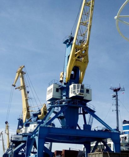 Капитально-восстановительный ремонт портального крана «Ганц»